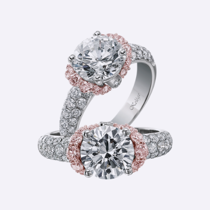 Picture of Rose Gold Engagement-Rings
