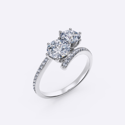 Picture of Two-stone Diamond Ring